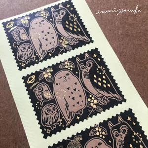 [泉はるか]切手型シール