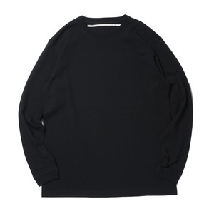 Sheba Back Printed L/S T-Sh(Black)
