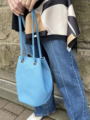 巾着bag[Color:ブルー]