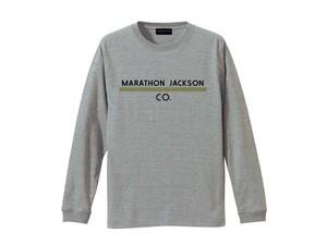 LONG SLEEVE T-SHIRT M319202-GRAY / ロンT グレー GRAY  / MARATHON JACKSON マラソン ジャクソン