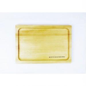 木製カフェトレイ [ナチュラル]・アンカフェシリーズ