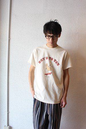 FUNG(ファング) / Print T-Shirts(プリント Tシャツ)NUT'S TO YOU
