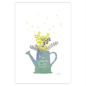 ポストカード『mimosa』~文子~