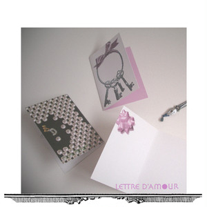 【⌘ For Gift ⌘】ミニメッセージカード3枚セット