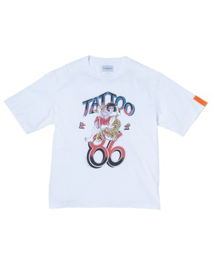 """NEW"" Tattoo86 Tee (Org) / WHITE"