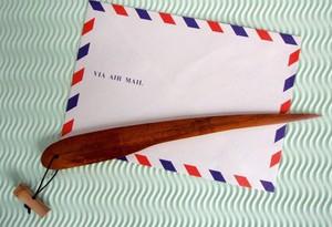 煤竹ペーパーナイフ