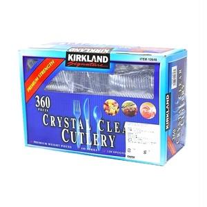 コストコ カークランドシグネチャー クリア カトラリー | Costco Kirkland Signature Crystal Clear Cutlery