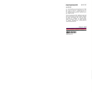 POPNONAME / White Album (CD)