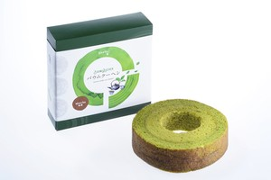Matcha BaumKuchen -Muslim Friendly-