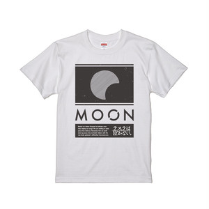 """""""MOON""""Tシャツ(ホワイト)"""