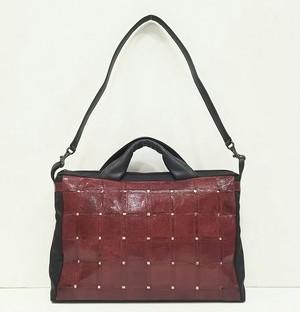 VAGRIE(ヴァグリエ)【リザードパッチワーク】ハンドバッグ