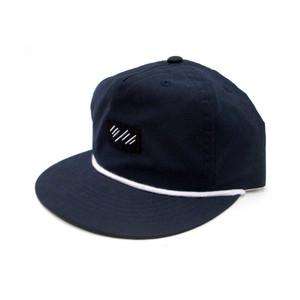 scar /////// BLOOD 5 PANEL NYLON CAP (Navy)