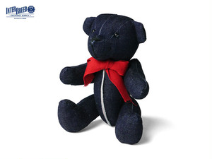"INTERBREED|Selvedge Supply ""Indigo Teddy Bear"""