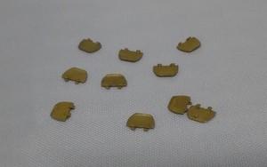 幌渡り板 5両分(10個入り) 1/87 12mm