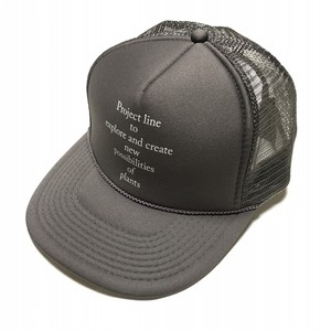 Botanique de TAVERN Plants Work Mesh Cap -charcoal < LSD-BTAC >