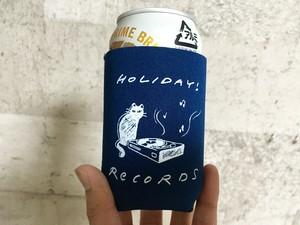 猫とレコード ロゴクージー(5色展開)