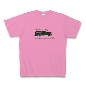 カートップTシャツ【ピンク】