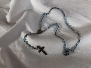 FRANCE vintage rosary *kids size