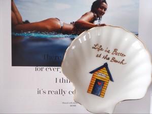 シェル型プレート【beach house】