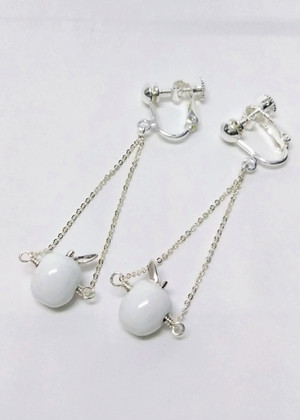 MIDDLAPPLE BLANCO EARRING