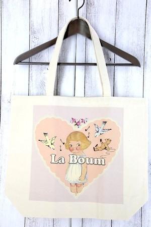 La Boum デザイントートバッグ(女の子とその仲間達)
