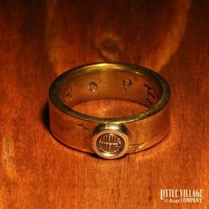 "Small Peace Ring ""LOGO"""