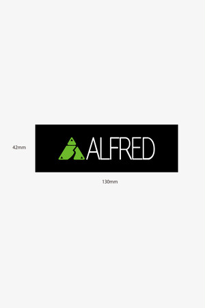 ALFRED ロゴステッカー 中
