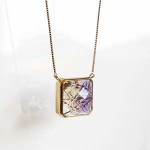 Ametrine KIRIKO Necklace (Square)