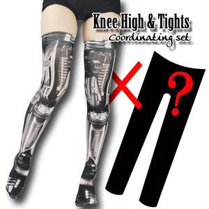 Set sales★<機械/Machine>Selectable knee high socks & Tights!