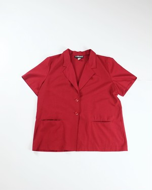 Unconstruction s/s jacket(Red)