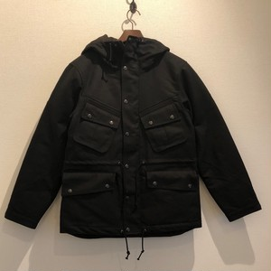 MOTORCYCLE HEAVY PARKA (BLACK) / GERUGA