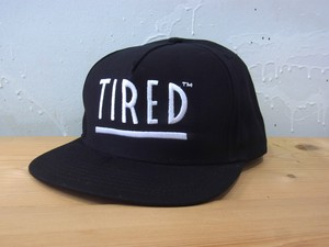 [ TIRED ] TIRED LOGO SNAPBACK