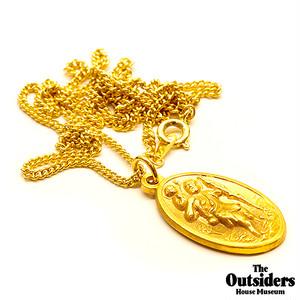The Outsiders Dallas Winston Pendant(K24 Coating)