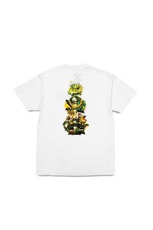 QUARTERSNACKS / Botanical Snackman / White / size M