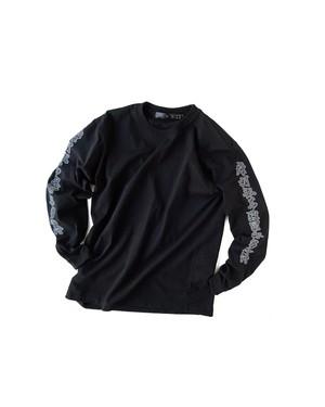 Tシャツ0号 長袖 「空」 黒