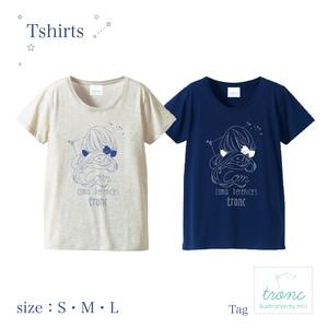 Tシャツ【Com】〈Ladies'〉