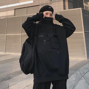 【トップス】無地フロントポケットデザインファッションパーカー25968284