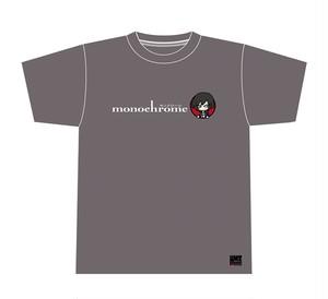 モノクローム オフィシャルTシャツ(チャコールグレー) [MC-TS002]