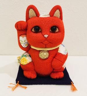 招き猫 江戸木目込み人形 風水コレクション