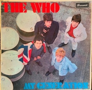 【LP】THE WHO/My Generation