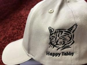 HappyTabbyロゴ入り オリジナルキャップ