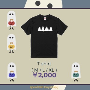 """"""" ghost """" Tシャツ"""