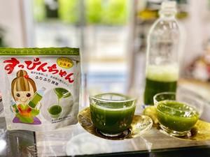 特別栽培茶パック入り抹茶すっぴんちゃん Organic Instant powdered Matcha