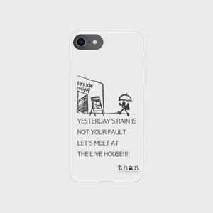 [色:クリア] iPhone6/6s/7/8対応【than / LET'S MEET AT THE LIVE HOUSE!!!】than original phone case