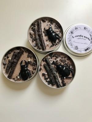 picnic candle :insect 昆虫缶キャンドル
