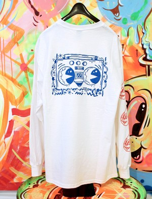 Vinnie Nylon/Long sleeve T-shirt 'STREET TRASH PUNK'