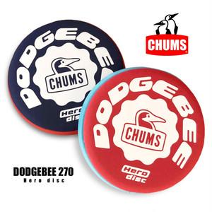 【270mm】チャムス CHUMS ドッヂビー 270 フライングディスク フリスビー ドッチビー ドッジビー アウトドア キャンプ 外遊び 軽量 安全 痛くない 柔らかい 競技用 CH621021 CH62-1021