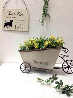 植木鉢 ボンヌベルカート アイボリーホワイト 644