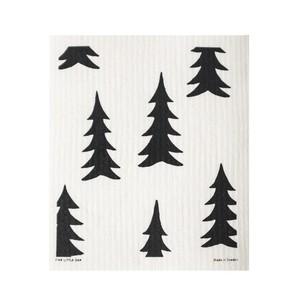 【定形外郵便250円】Fine Little Day (ファインリトルデイ)スポンジワイプ 2枚セット 17 x 20 cm モミの木 針葉樹 北欧 スウェーデン キッチンウェアー自然 エコロジカル