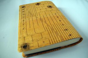 文庫本セパレート式ブックカバー(絹)hb057